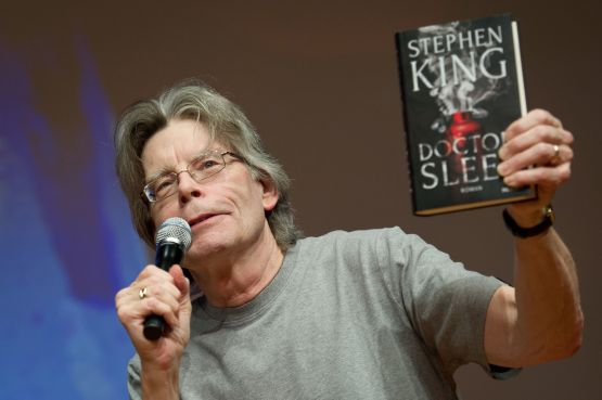 An image of Stephen King