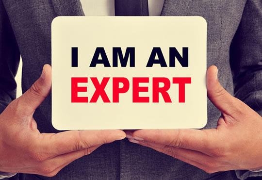I am an expert